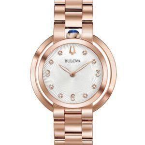Sale! Bulova Blue Ruby Diamond 35mm watch
